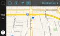 Así luciría el 'modo coche' de iOS