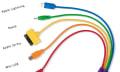 Regenbogenpeitsche: Multi-USB-Adapter für fast alle Smartphones
