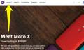 Un misterioso 'Moto G' aparece brevemente en el sitio de Motorola