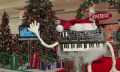 Synthesizer-Weihnachtslied in Knet-Stopmotion (Video)