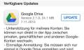 Google Drive für iOS: mehrere Nutzerkonten, AirPrint und mehr