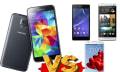 El Samsung Galaxy S5 contra la competencia