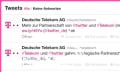 Deutsche Telekom und Twitter kooperieren