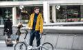 Esta bici es eléctrica, plegable y además habla con otros dispositivos (video)