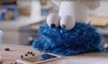 Gute Kombi: Krümelmonster backt Kekse mit Siri