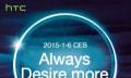 HTC zeigt neues Desire auf der CES