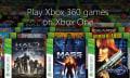 Estos son los primeros 104 juegos retrocompatibles para Xbox One