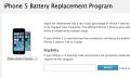 Apple sustituirá algunos iPhone 5 por problemas de batería