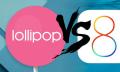 Wer stürzt seltener ab? iOS8 vs. Android Lollipop
