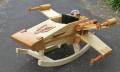 Bastelmeisterwerk: X-Wing-Schaukelpferd aus Holz