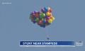 Up-Flug: Kanadier fliegt mit Ballons in die Luft