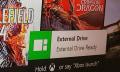 Una imagen deja ver la compatibilidad de discos externos en Xbox One