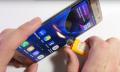 Hält: Galaxy S7 Edge im Biegsamkeits-Test