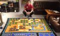 Fan arbeitet 800 Stunden an gehäkelter Karte zu Super Mario Bros. 3