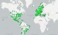 Hier ist Spotifys tönende Weltkarte