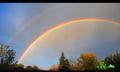 Video: Wie entsteht ein doppelter Regenbogen?