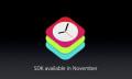 WatchKit: El kit de desarrolladores de Apple Watch llegará en noviembre