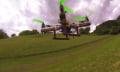 Este chocodrone abrirá tu apetito con sus giros en el aire (video)