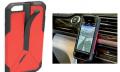 Praktisch: iPhone-Case mit integrierter Autohalterung