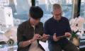 Video: Tim Cook spielt Garage Band mit chinesischem Popstar JJ Lin