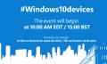 Sigue en directo el evento de dispositivos con Windows 10 de Microsoft