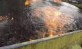 Nebenwirkungen von Fracking: Australischer Fluss geht in Flammen auf (Video)