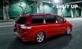 Toyota Sienna: Minivan mit neuer Anschnauzfunktion für nackengeplagte Eltern