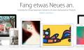 Apple zeigt Mac- und iOS-Kunst