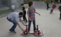 DIY: Hoverboard aus vier Laubsaugern (Video)