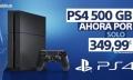 Es oficial, PS4 baja su precio hasta los 349,99 euros