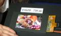 El nuevo panel IGZO de Sharp se comprime hasta los 736 ppp