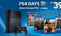 PS4 + juego por 399,99 euros hasta el 12 de abril