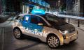 Dieser BMW i3 ist ein Geldautomat, der auf App-Zuruf angefahren kommt