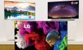 LG no se olvida del OLED y ofrece modelos 4K planos, curvos... y flexibles