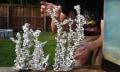 Bleigießen für Nerds: Flüssiges Aluminium über Hydro-Kristalle