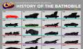 Infografik: Die Geschichte des Batmobils