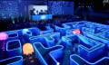 Bud Light verblödet Pac-Man mit Reallife Techno-Bierzelt-Atmosphäre