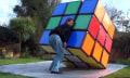 1,57 Meter im Quadrat: Größter funktionsfähiger Zauberwürfel überhaupt