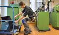 Una startup suiza inventa una silla de llevar encima (con video)