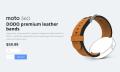 El Moto 360 estrena nueva gama de correas de cuero por 60 dólares