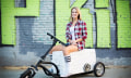Kreweser: Trike trifft Kühlbox trifft Block Party