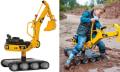 Haben wollen: Tretbagger CAT Digger kann richtig baggern