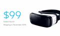 Las nuevas Samsung Gear VR costarán 99 dólares