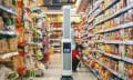 Autonomer Roboter macht Supermarkt-Regaleinräumern Beine