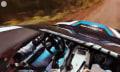 360-Grad-Video: Rally-Fahrern durchs transparente Dach auf die Finger schauen