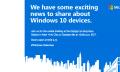 Microsoft presentará nuevos equipos Windows 10 el 6 de octubre