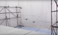 Drohnen der ETH Zürich bauen begehbare Hängebrücke (Video)
