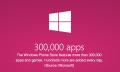 Windows Phone dobla su oferta en un año: Ya tiene más de 300.000 apps