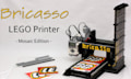 Bricasso: Lego-Printer reproduziert Bilder als Lego-Mosaik (Video)