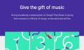 Google ermöglicht das Verschenken von Musik-Abos